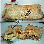 recette Bricks aux champignons et béchamel