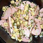 recette Salade de cervelas au comté