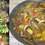recette Spaghettis Chinois aux petits légumes.
