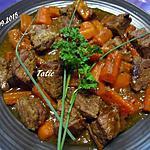 recette Bœuf carottes sans alcool.