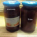 recette Confiture de rhubarbe et fraises en MAP.
