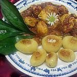 recette Sauté de dinde en sauce cuisinée.
