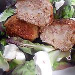recette Boulette de poulet farci a la mozzarella