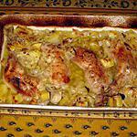 recette Cuisses de poulet moutarde au four