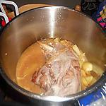 recette Cuisse de dinde au miel en cocotte