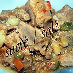 recette Sauté de porc aux légumes
