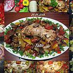 recette Cuisse de dinde aux légumes du SUD.