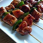 recette Brochette de poulet (Yakitori)