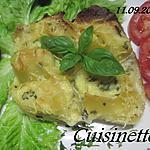 recette Pâtes Lumaconi farcies à la puée de quenelles de brochet.