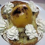 recette Dessert royal à la crème Chantilly.