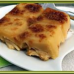 recette Clafoutis aux pommes et éclat de caramel
