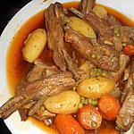 recette Poitrine d agneau en ragout