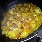 recette Poêlée de pommes de terre tandorri