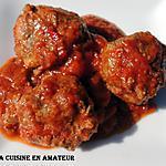 recette Boulettes marocaines