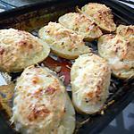 recette POmmes de terres farcis au saumon