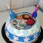 recette Mon premier gâteau reine des neiges