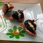 recette bouchées pruneaux-filet mignon fumé-reblochon