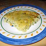 recette Flan de courgettes au thym