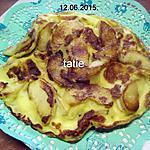 recette Omelette aux pommes.