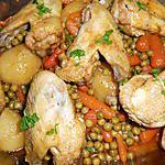 recette AILES DE POULET ALLA CONTADINA (PAYSANNE)