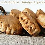 recette Scones salés à la farine de châtaigne