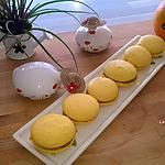 recette Macaron à l'orange