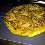 recette Tarte tatin de courgettes-pesto et mozzarella