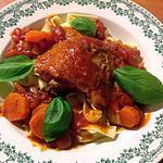 recette Hauts de cuisse de poulet en sauce