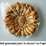recette Soleil gourmand pour le dessert ou l'apéritif