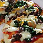 recette Pizza Epinard