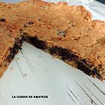 recette Cookie géant au chocolat