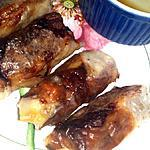 recette Nems au porc maison- recette rapide