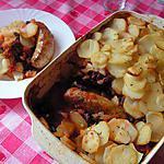recette Saucisse en gratin