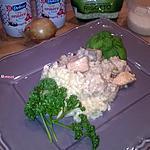 recette Risotto au saumon frais