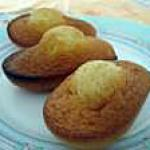 recette Les madeleines
