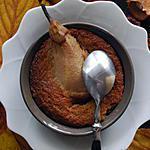 recette Fondant de marrons à la poire