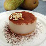 recette Crème aux poires façon entrements