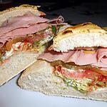 recette MES PETITS PAINS SANDWICH