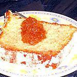 recette gateau aux quatres épices  orangé