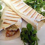 recette Wrap de porc pané aux trois fromages