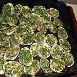 recette Palourdes farcies au beurre d escargot