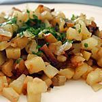recette Pommes de terre à l'étouffées
