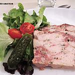 recette Terrine de poulet et chair à saucisse