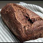 recette **Pain / cake au levain au chocolat noir & piment d'espelette **