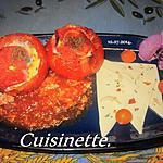 recette Tomates farcies aux œufs.