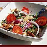 recette Salade de râpé de jambon, aux pommes et aux noix  Publié le 5 octobre 2015 par delphine