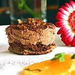recette Gâteaux au chocolat adaptés de Pierre Hermé