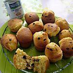 recette Muffins aux pépites de chocolat ( lait concentré) !!!