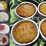 recette un régal de clafoutis au jambon et gruyère au curcuma.