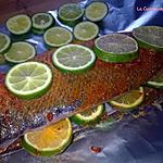 recette Bar de ligne au Citron vert